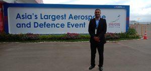 Suresh Somu reporting from Singapore Airshow 2020