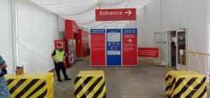 No queues at entry