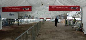 Deserted corridors courtesy Corona virus