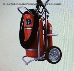 Trolley Mounted Large Area Sanitisation Equipment