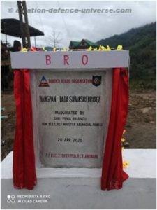BRO constructs bridge connecting strategic areas in Arunachal Pradesh