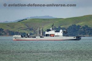 Royal New Zealand Navy ship HMNZS Aotearoa