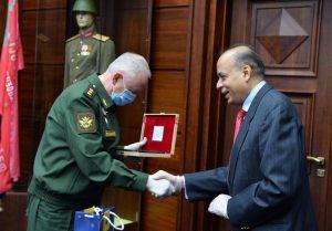 Indian Defence Secretary, Dr. Ajay Kumar