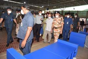 largest quarantine facility of India