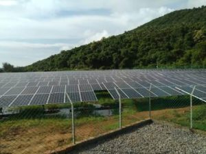 solar plant in Ezhimala
