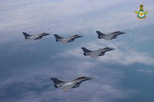 Indian Rafales in Indian skies
