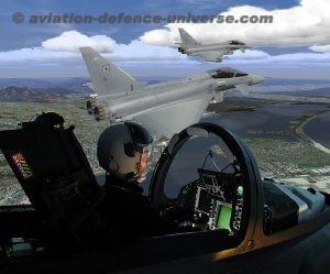 CAE Medallion on Qatar Air Force Typhoons