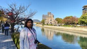 Military pilgrimage to Hiroshima