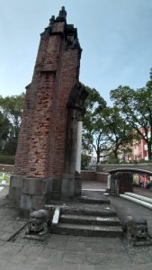 Remnants of the church