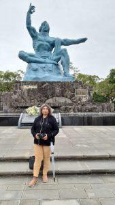 Nagasaki Peace Memorial  Monument