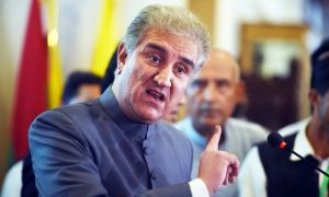 Shah Mehmood Qureshi Pakistan's Foreign Minister