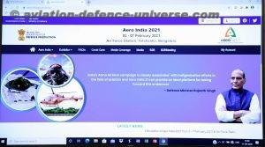 Aero India website