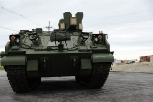 First Armored Multi-Purpose Vehicle