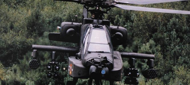 AH-64E Apache Helicopters