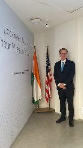 William L Blair Vice President and Chief Executive, Lockheed Martin India