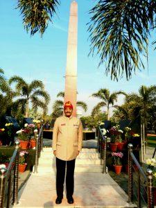Col Mahendra Kumar   the landscapist & the horticulturist