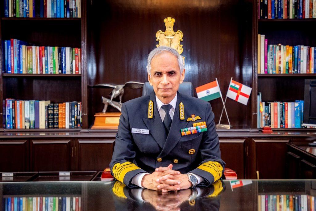hief Of The Naval Staff, Admiral Karambir Singh