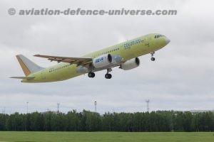 MC-21-310 flight-test aircraft