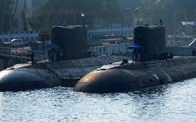 Indin Navy submarines
