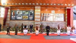 Prime Minister Narendra Modi Inaugurating the Tunnel (Courtesy BRO)