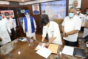 Jyotiraditya Scindia is the Minister of Civil Aviation