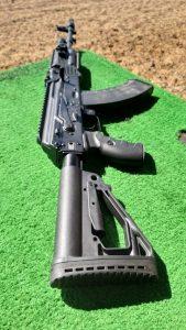 AK-203 on display at Army 2021