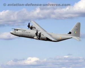 Indian Air Force's C-130J Super Hercules Airlifter Fleet