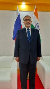 India's Lead Diplomat in Russia