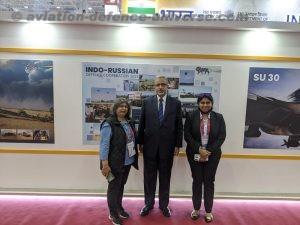 Team ADU with Ambassador Varma