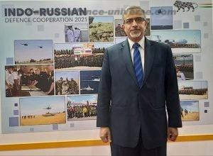 Indian Ambassador in Russia His Excellency DB Venkatesh Varma