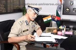 SHRI PANKAJ KUMAR SINGH, IPS TAKES OVER THE CHARGE OF DG BSF