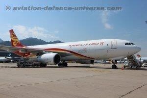 Hong Kong Air Cargo's maiden Freighter aircraft