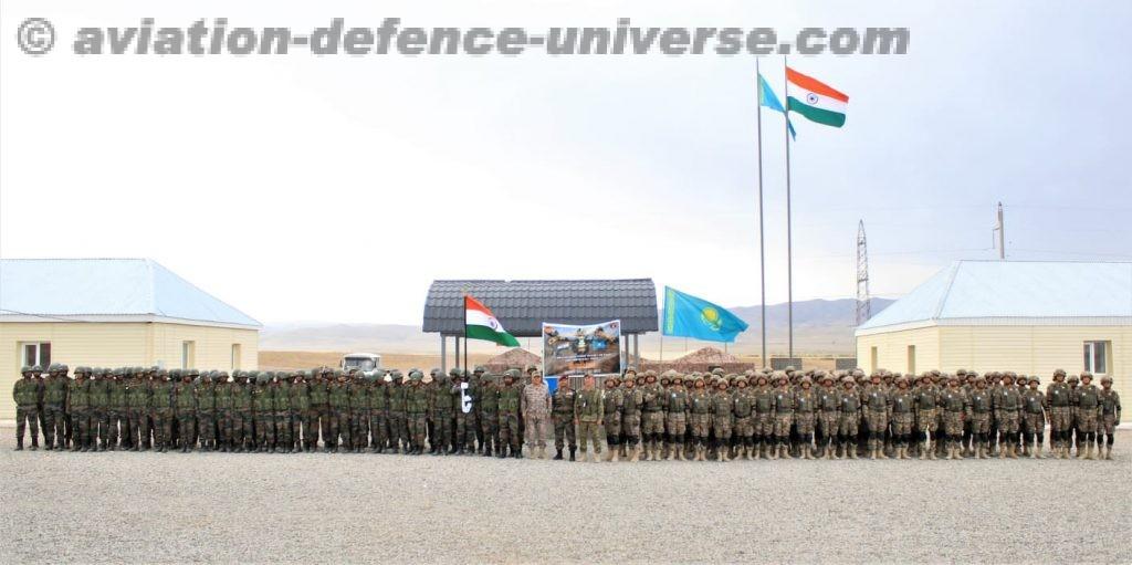 Closing Ceremony Indo-Kazakhstan Joint Training Exercise Kazind