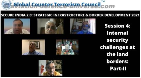 Dynamics of Indian borders brainstormed