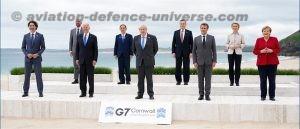 G7 leaders met at Cornwall, UK
