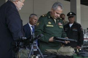 Minister of Defence of the Russian Federation, General of the Army Sergei Shoigu