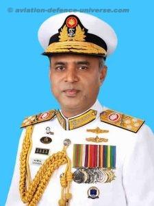 Bangladesh Navy Chief Admiral M Shaheen Iqbal in India