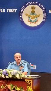 Air Chief Marshall VR Chaudhary