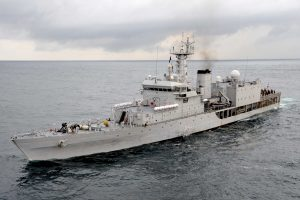 Indian Navy's First Training Squadron in Srilanka
