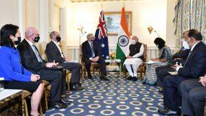 Australian-Indian leaders meet in Washington DC