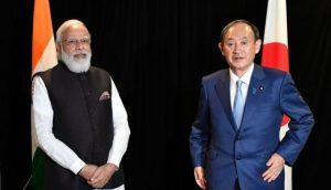 Modi-Suga meet at the QUAD Summit