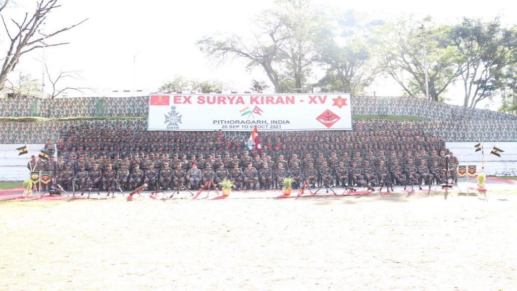 Indo-Nepal joint exercise Surya Kiran XV culminates